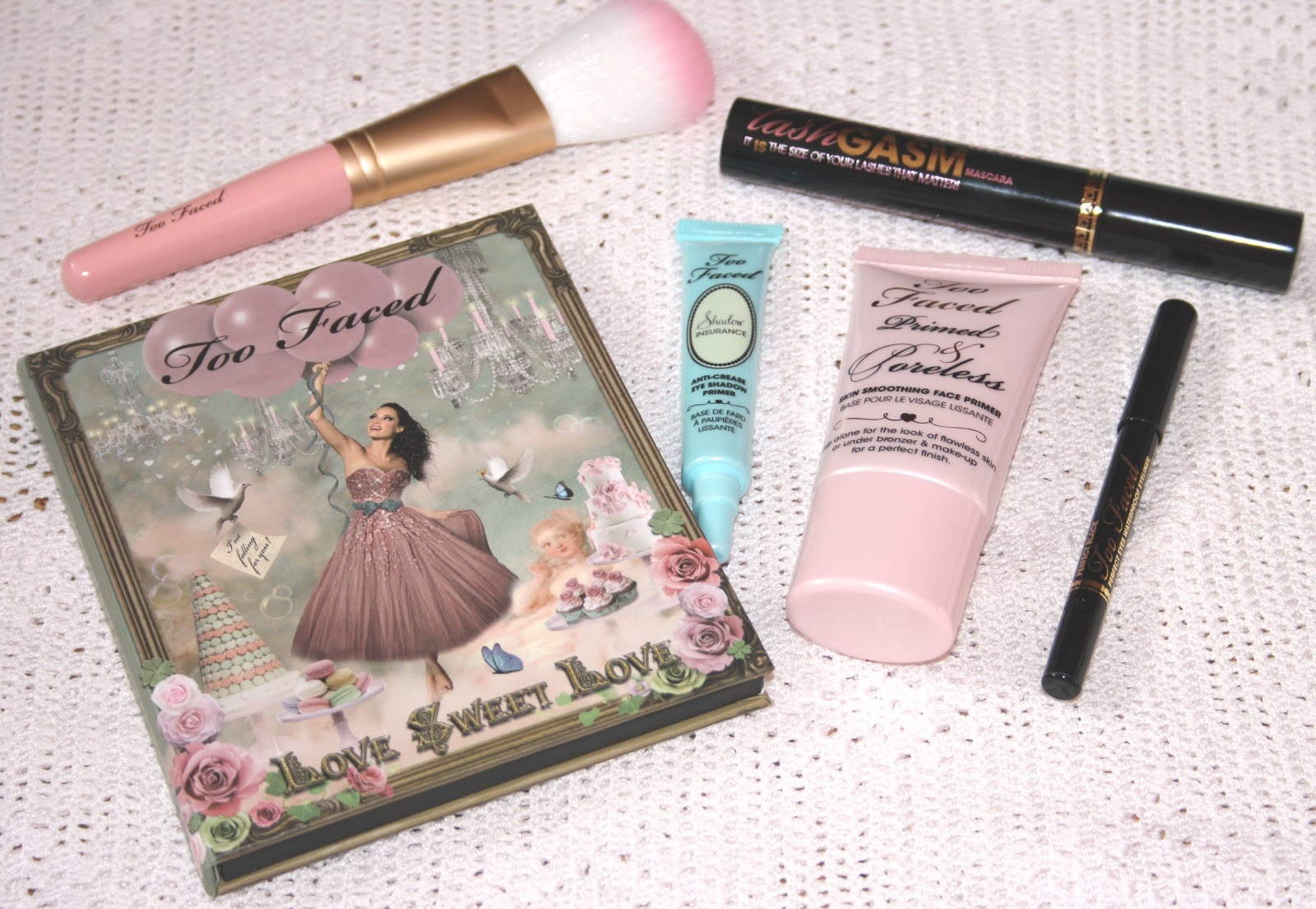 Too Faced Love Sweet Love Holiday Set: Review + Swatches | RosyChicc