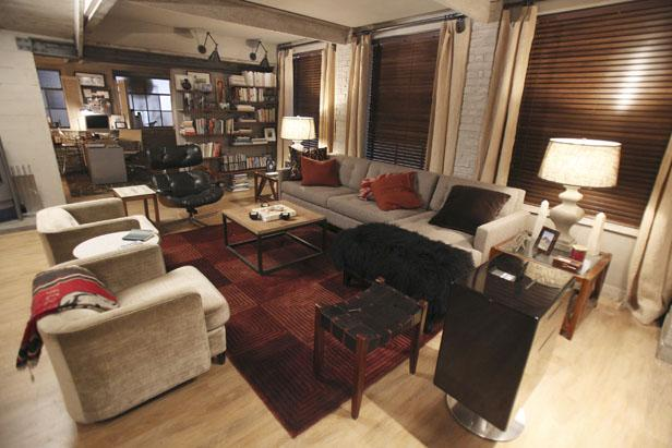 Kate Beckett's Living Room