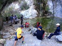 Fish Canyon Falls, Angeles National Forest, June 21, 2015