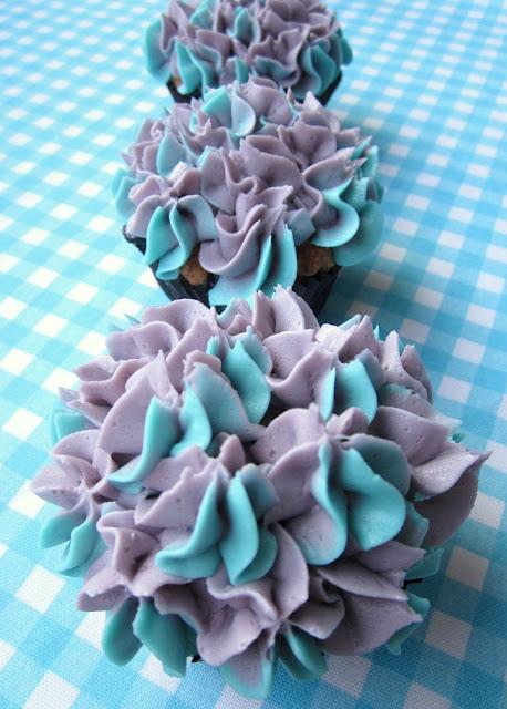 Hortensia kuppikakut – Hydrangea Cupcakes