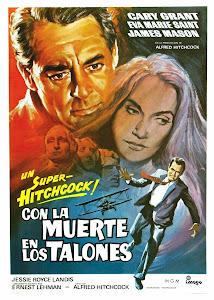 Con la muerte en los talones (1959) Descargar y ver Online Gratis