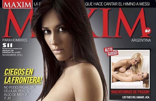 Jesica Hereñu Revista Maxim Argentina Noviembre 2011