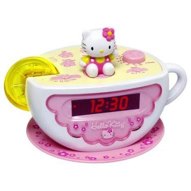 Hello kitty hello kitty clocks for Lit hello kitty