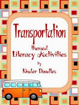 http://www.teacherspayteachers.com/Product/Transportation-Themed-Literacy-Activities-aligned-to-CCSS-1149118