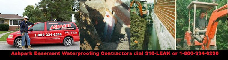 Whitby Wet Leaky Basement Waterproofing Contractors Whitby in Whitby 1-800-NO-LEAKS