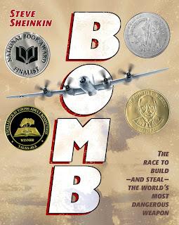 Bomb- Juvenile WWII non-fiction.  Absolutely fabulous! Alohamora http://alohamoraopenabook.blogspot.com