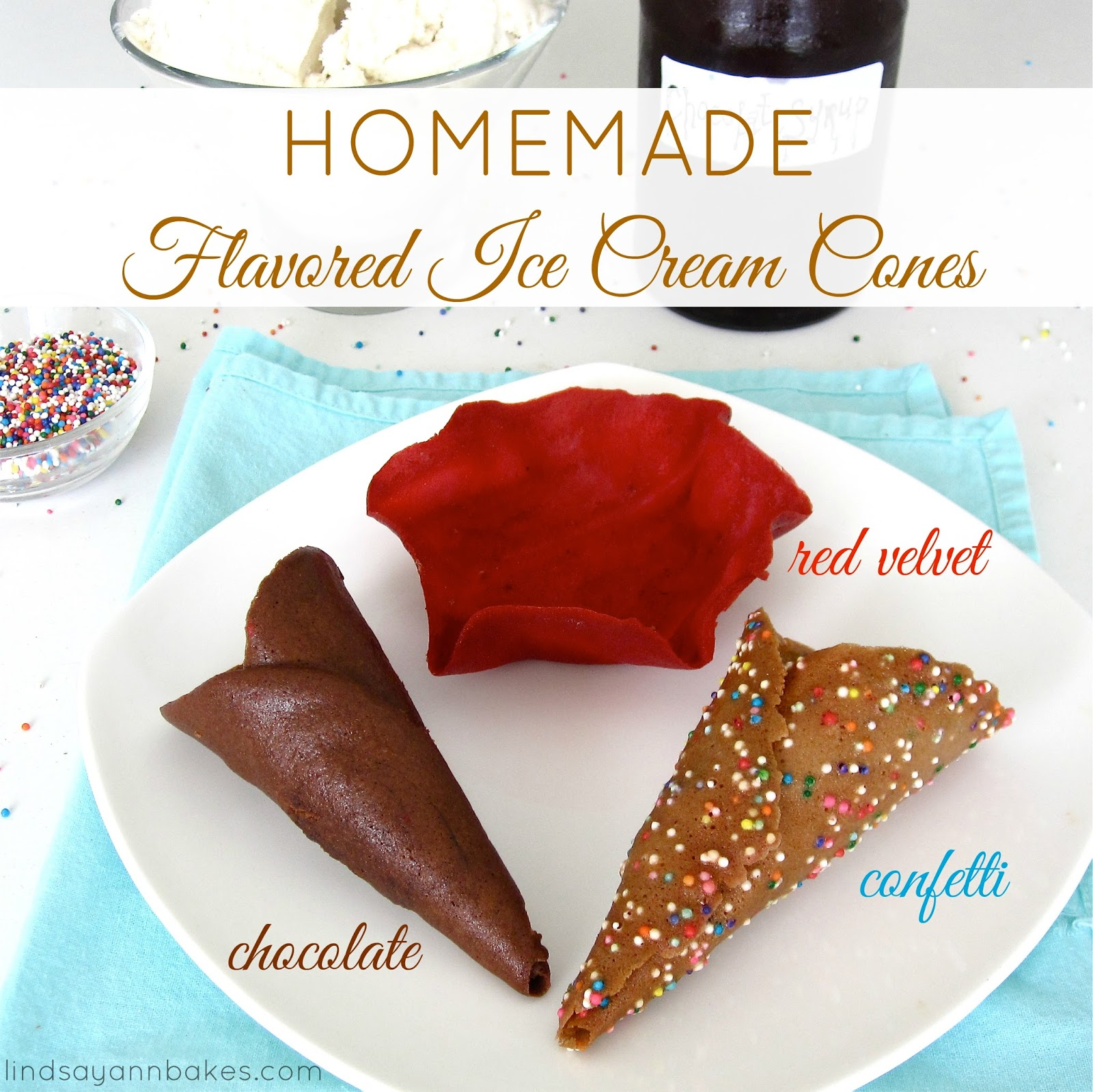 An Ice Cream Cone Recipe For Homemade Chocolate Dipped ...