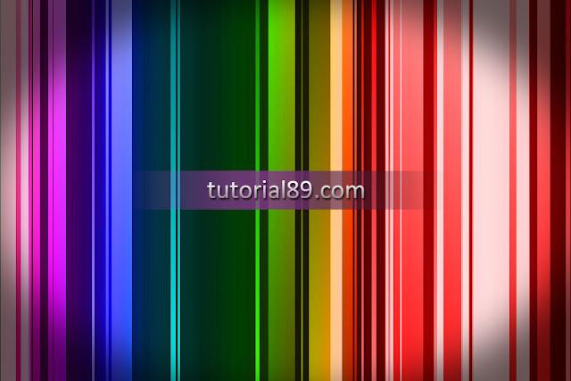 Cara membuat background color full bar di photoshop
