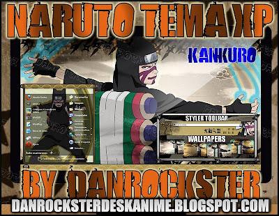 TEMAS de NARUTO PARA WINDOWS XP Y 7 KTXP