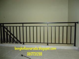 pagar tangga minimalis