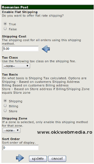 tutoriale magazine online zencart owm