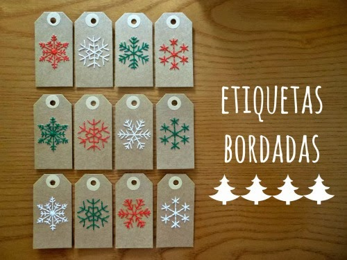 papel bordado DIY manualidades costura