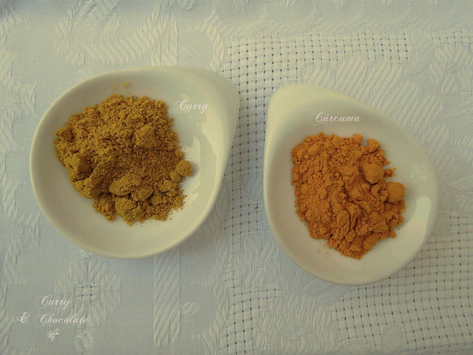 Curry y cúrcuma