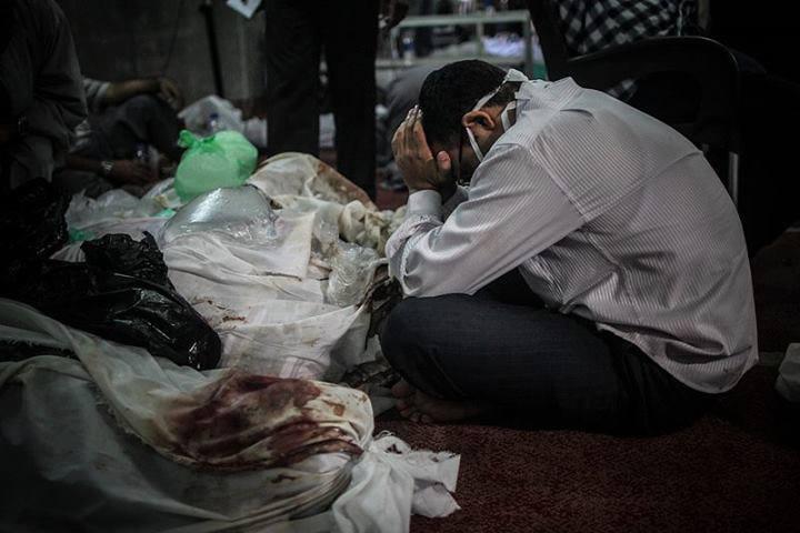 10 Foto Tangis Mesir yang Mengundang Air Mata