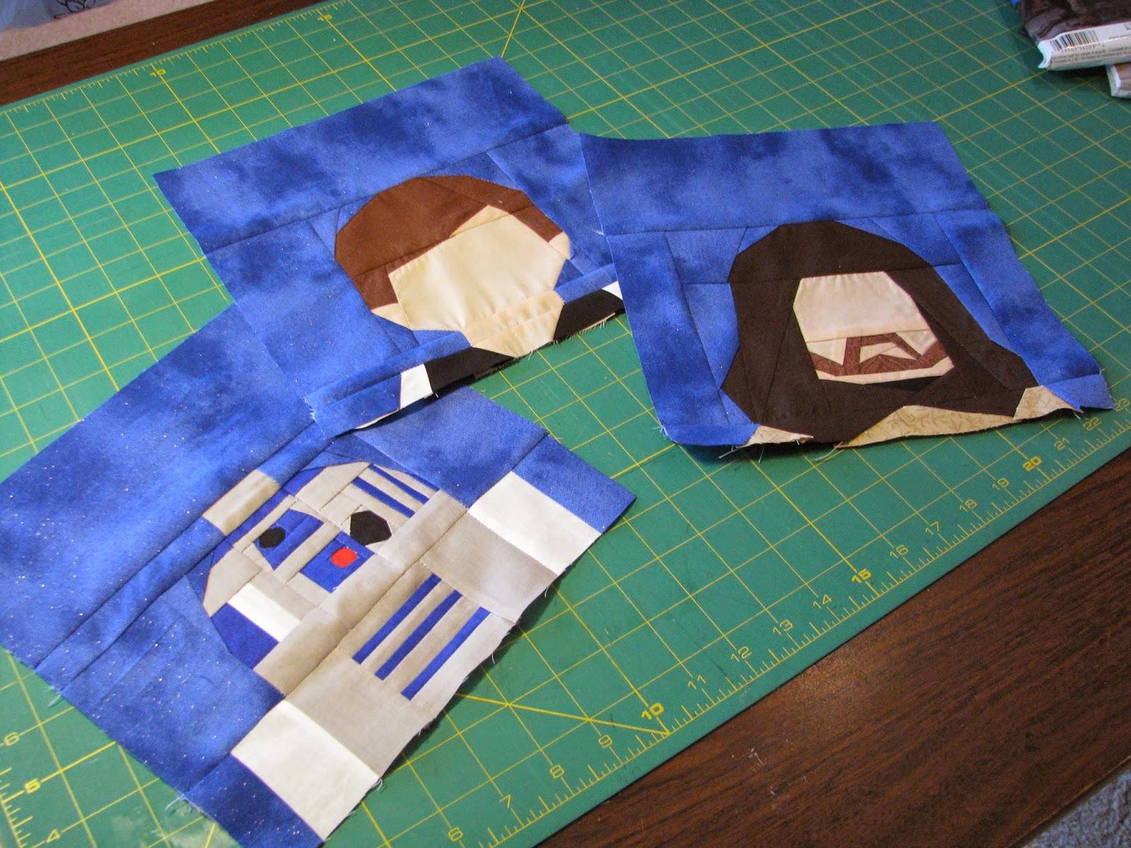 Pintucks And Pinafores Star Wars Quilt