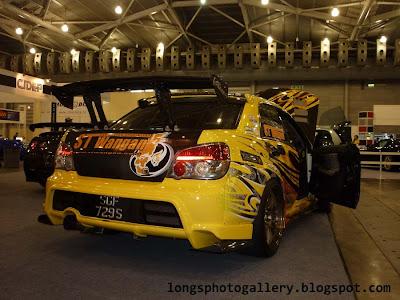 Subaru Impreza WRX STI race car