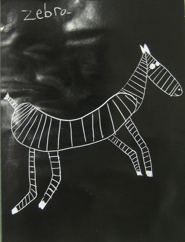 Put On Your Cheap Sunglasses For The Hot Dog Zebra Drawing