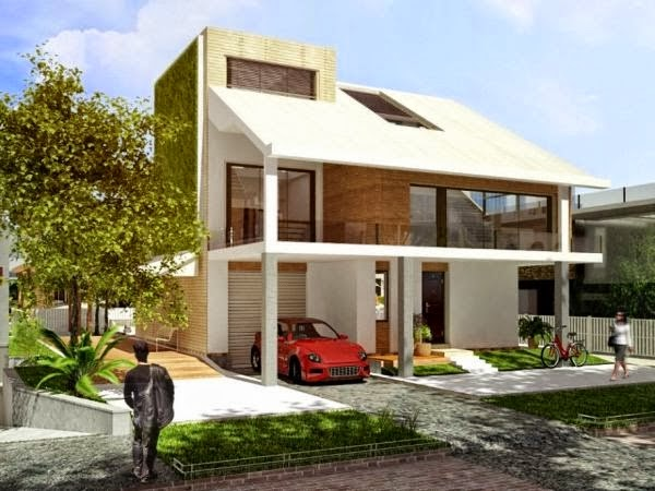 model rumah minimalis simple