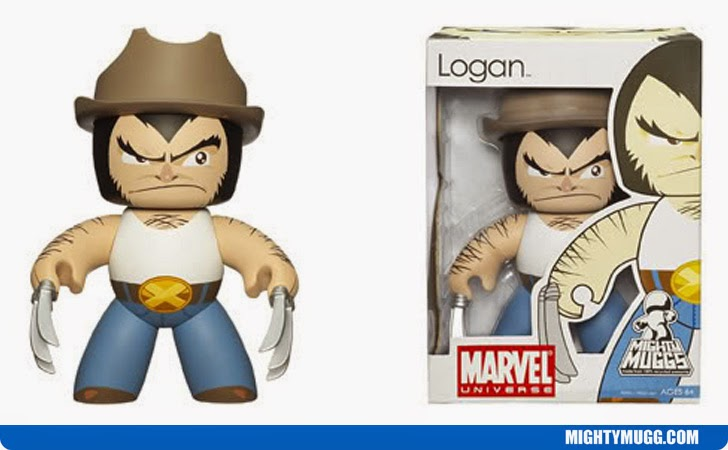 Logan Wolverine Marvel Mighty Muggs Wave 6