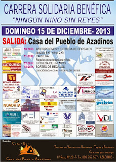 Carrera Solidaria Benefica Azadinos