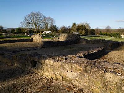 Basílica romana (Caerwent) (Gales)