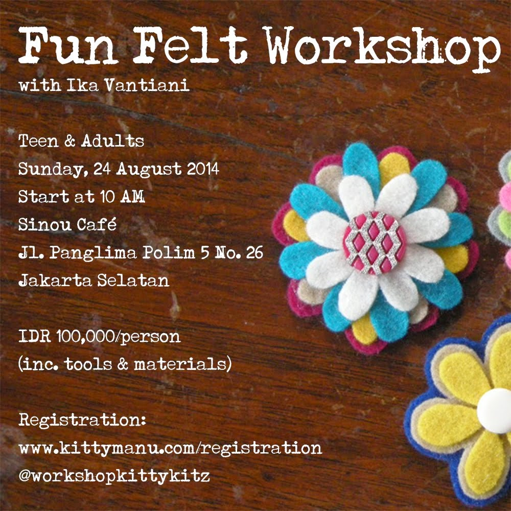 August Workshop Schedule