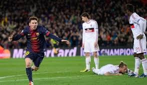 Hasil Skor  Pertandingan Barcelona vs Ac Milan Tadi Malam 13 Maret 2013