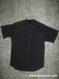 áo sơ mi nam 2012 màu đen