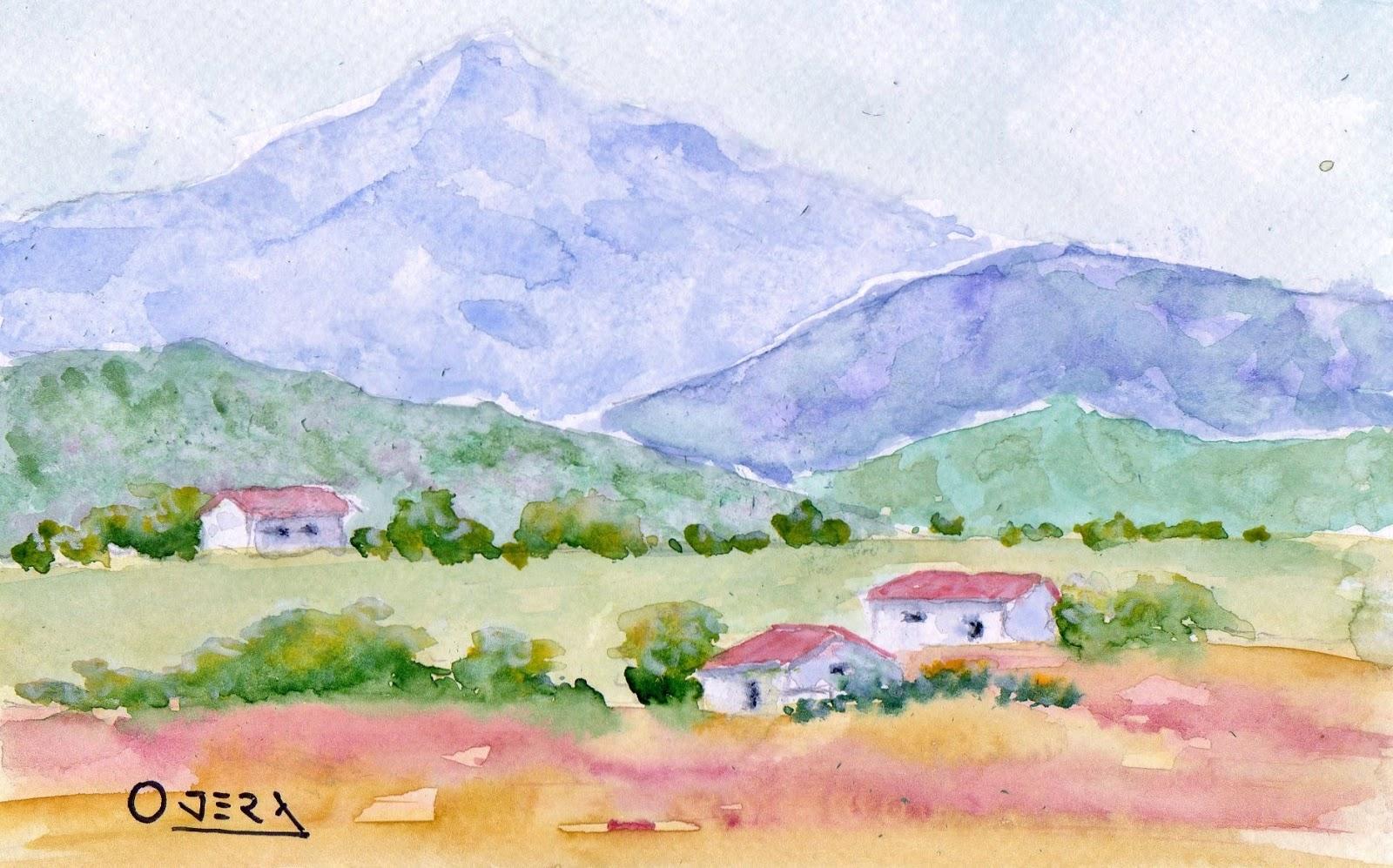 paisajes sencillos a lapiz
