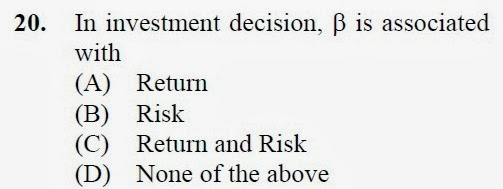 2012 December UGC NET in Management, Paper III, Question 20