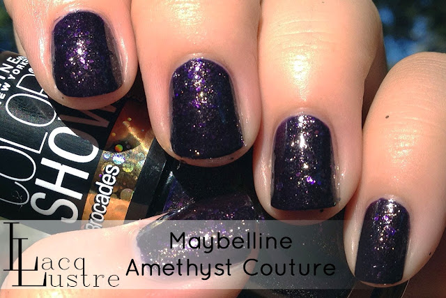 Maybelline Amethyst Couture swatch