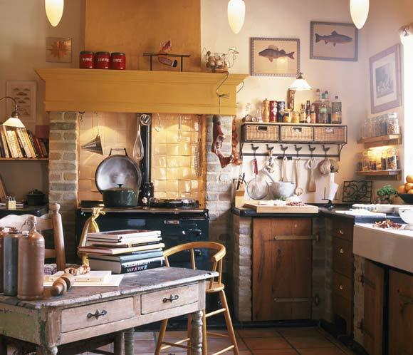 El campo en tu cocina decorar tu casa es - Cocinas rusticas de campo ...
