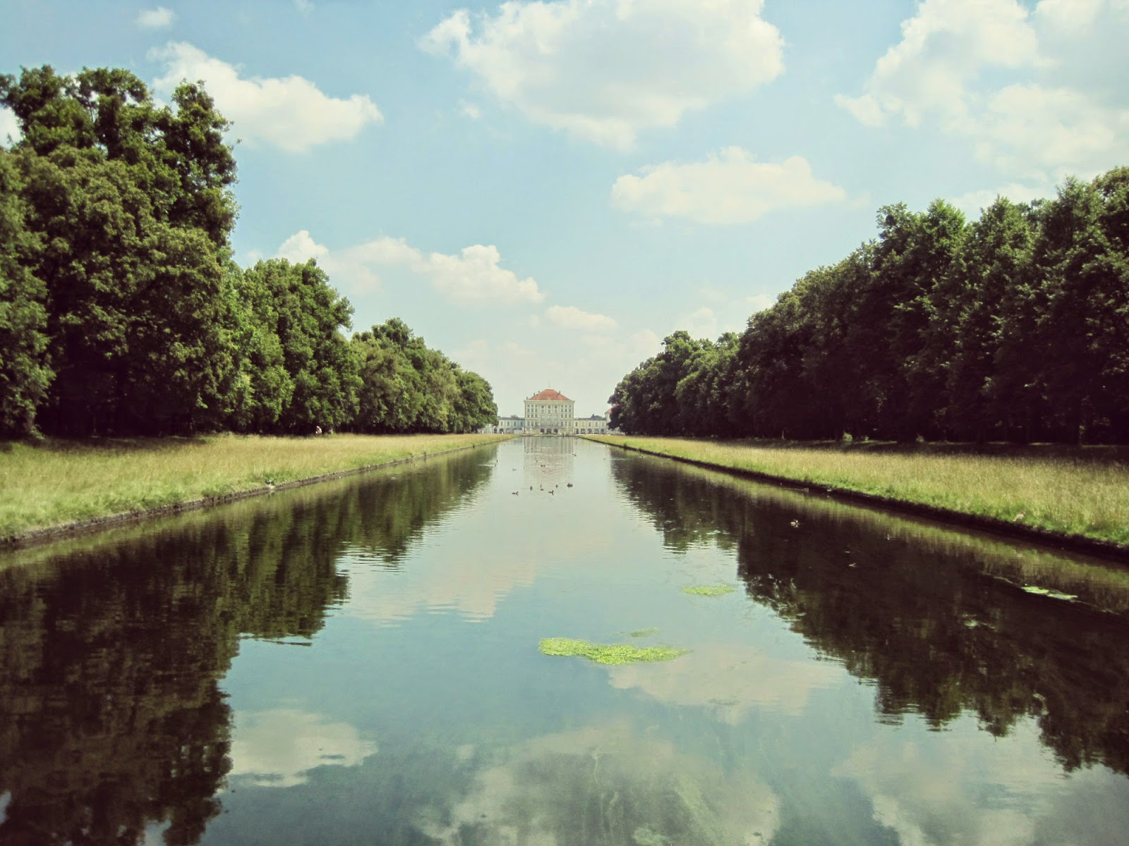 Nymphenburg Palace Gardens and Canal