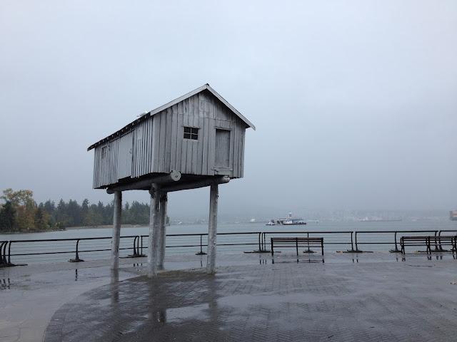 [vancouver] waterfront art sculpture