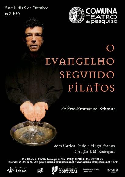 Teatro - O Evangelho Segundo Pilatos