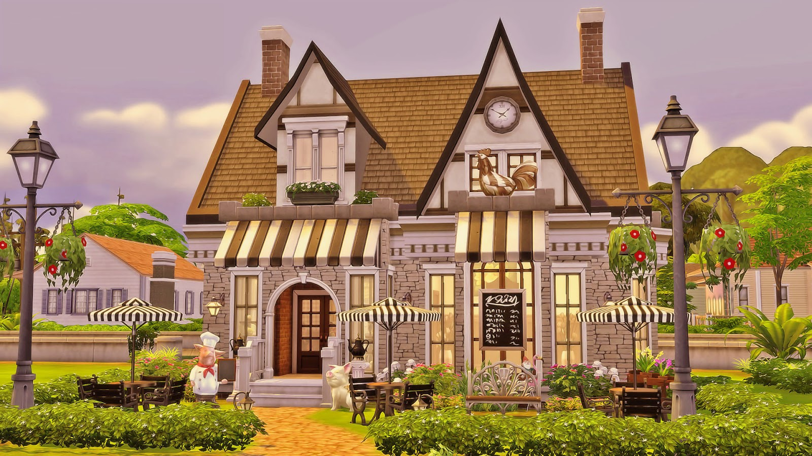 Grandma 39 s kitchen sims 4 houses for House 4