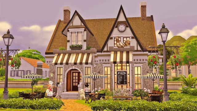 Sims 4 Grandma's Kitchen