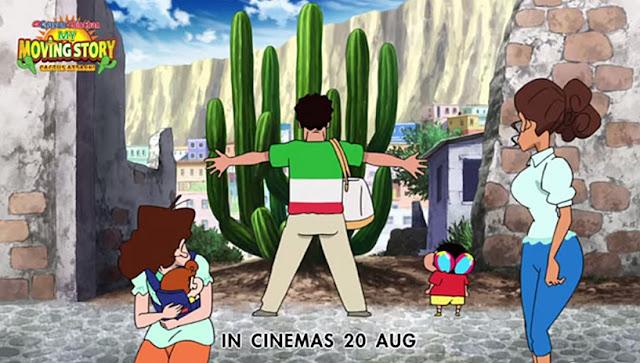 Crayon Shin-Chan: Cactus Big Attack (2015) Sinopsis