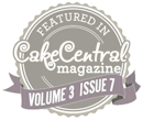 Featured in Cake Central Magazine