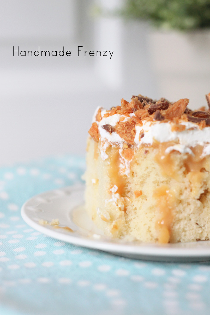 Butterfinger Pudding Cake Recipe