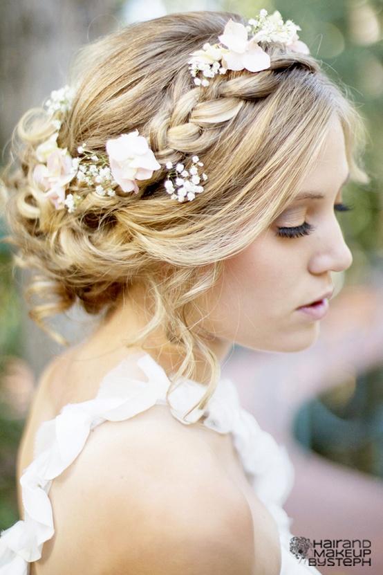 Románticos y elegantes peinados para novias Univision - Peinados Romanticos Para Bodas