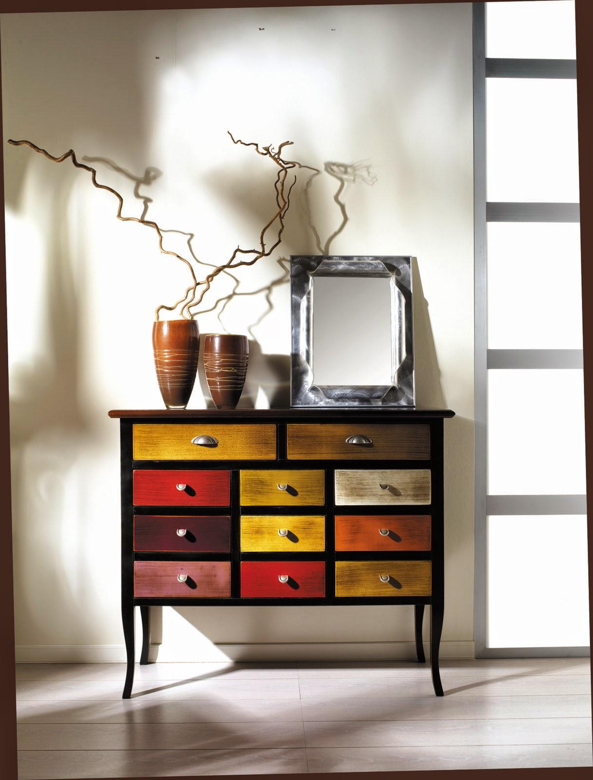 mobili casanova multicolor