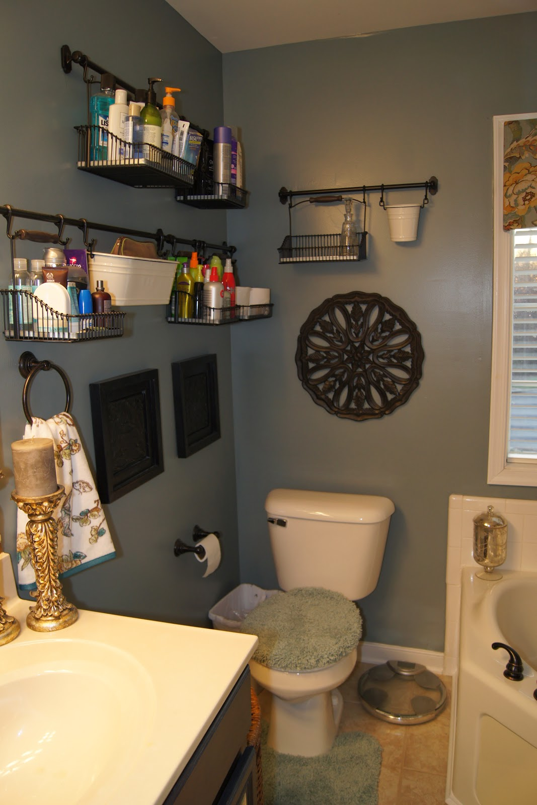 The master bathroom vanity for real this time cathgrace - Bathroom vanity storage solutions ...