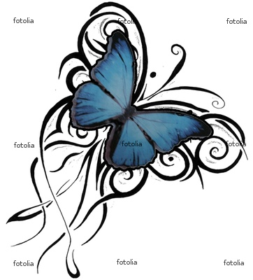 butterfly tattoo designs for women on Butterfly Flash Tattoo Designs - Flash Tattoo