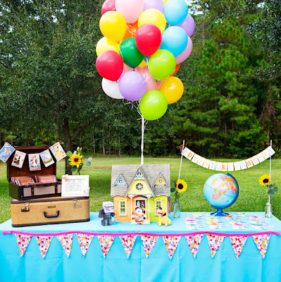UP themed party decors