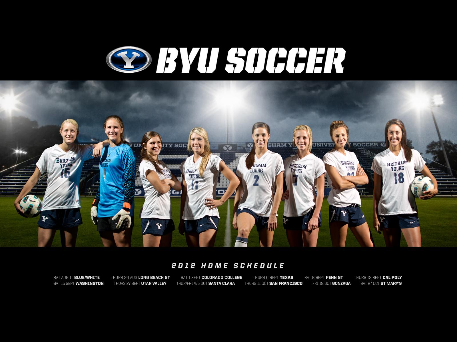 All Things Utah 2012 Byu Women S Soccer