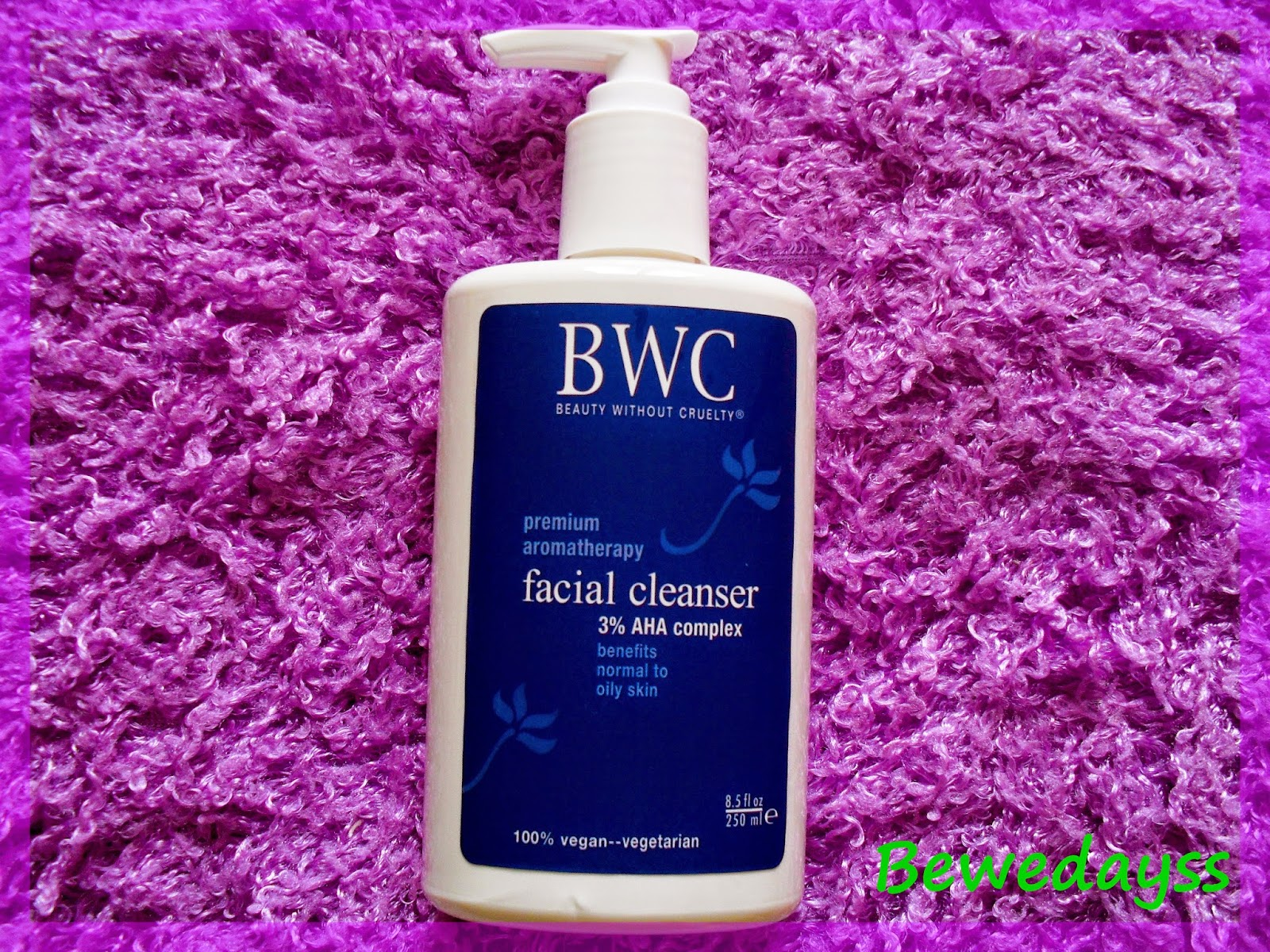 Beauty Without Cruelty, Facial Cleanser, 3% AHA Complex