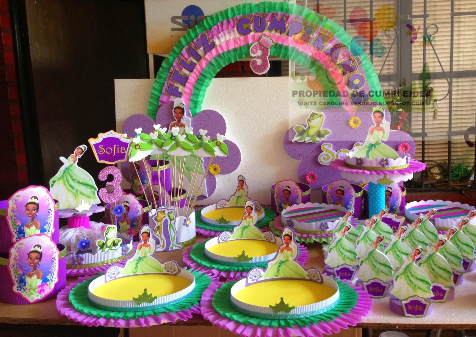 Fiesta La Princesa y El Sapo - LaCelebracion.com