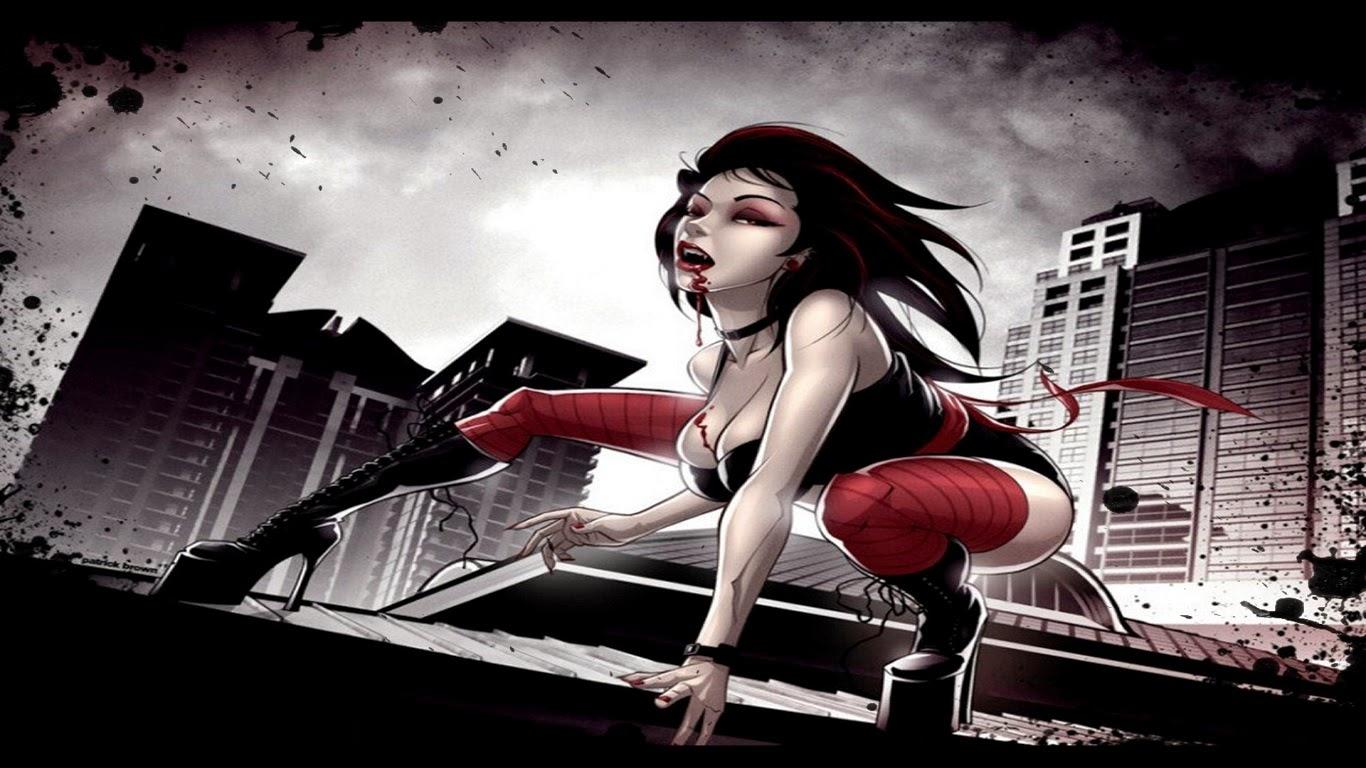 Городской Вампир  Девушка Вампир