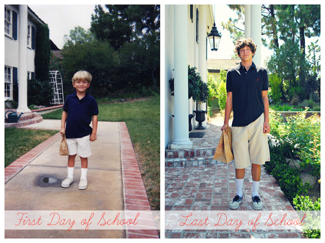 then and now - Orange County Portrait Photographer